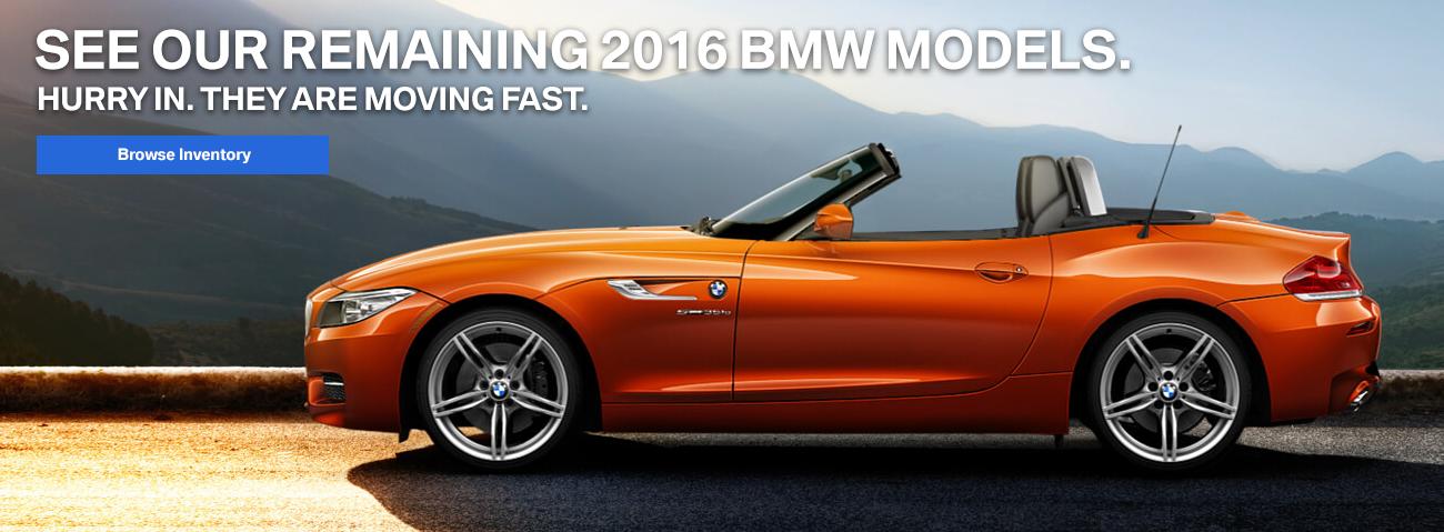 2016 BMW Models