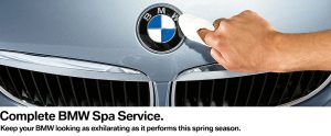 BMW Spring Spa Service at BMW Markham BMW Markham