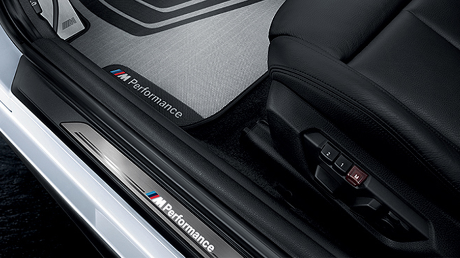 BMW M Performance LED Door Sill Cover Strip