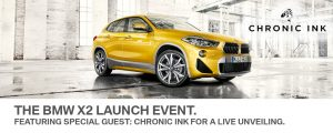 BMW Markham BMW X2 Launch Event In Collaboration with Chronic Ink