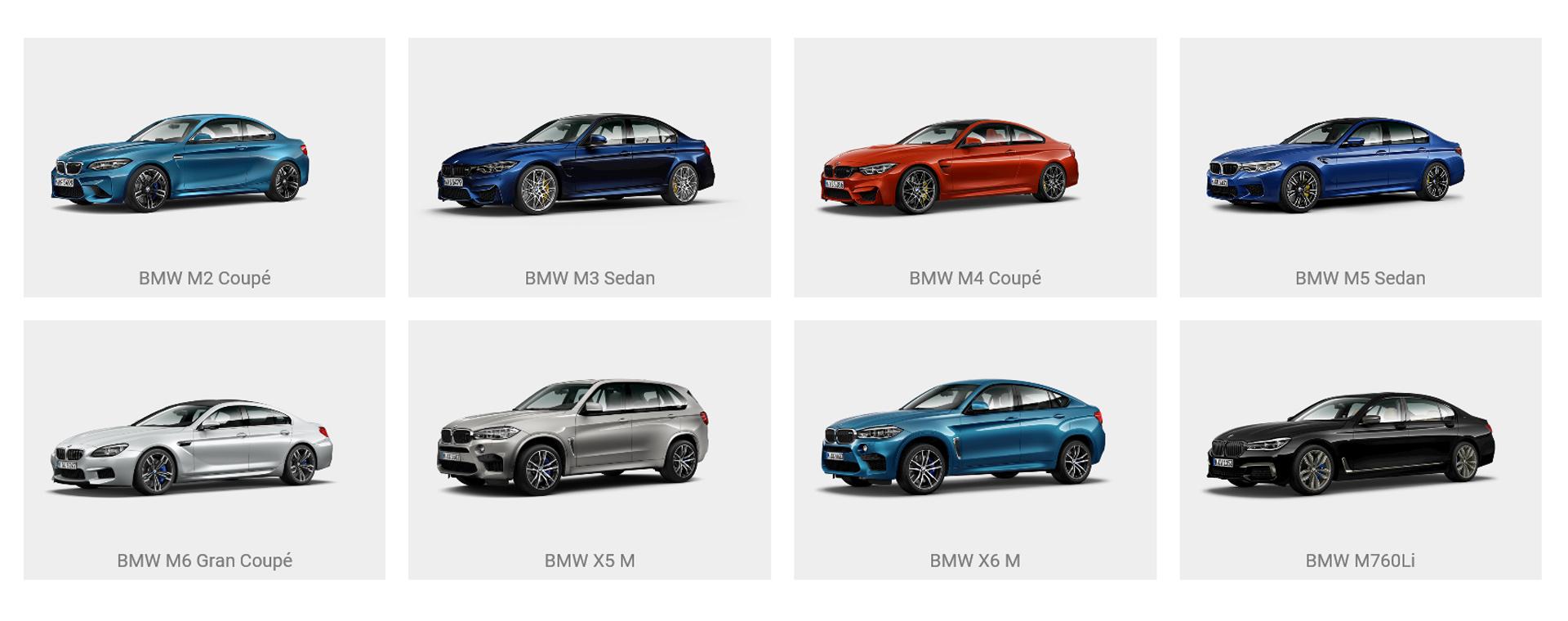 BMW M Tour fleet