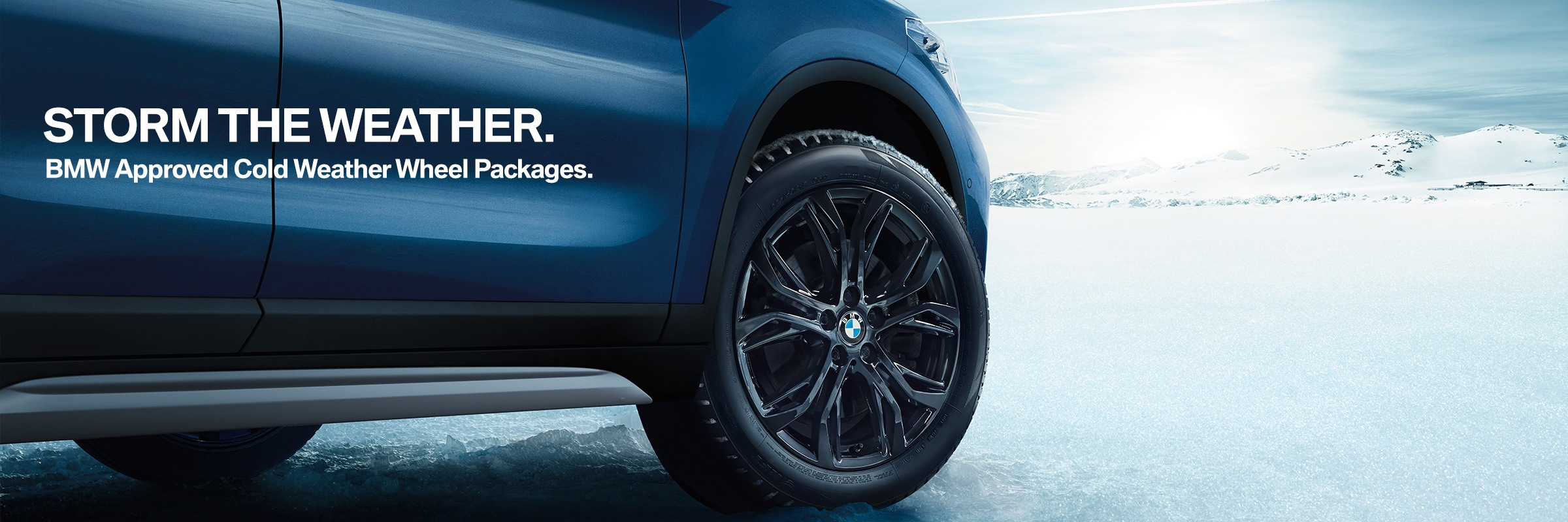 Bmw Cold Weather Wheel Packages Bmw Markham