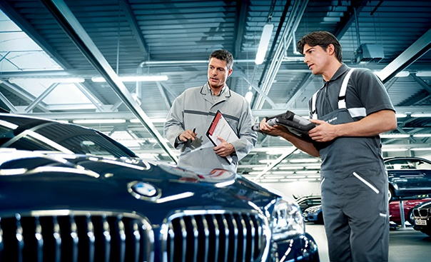 BMW 55-point inspection for only $59.95*