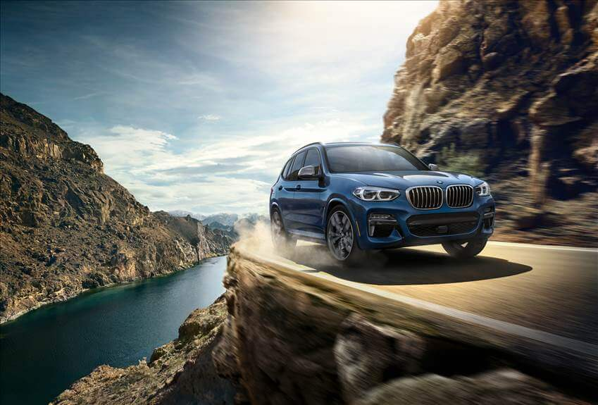 Ready for all Road Demands. The 2019 BMW X3.