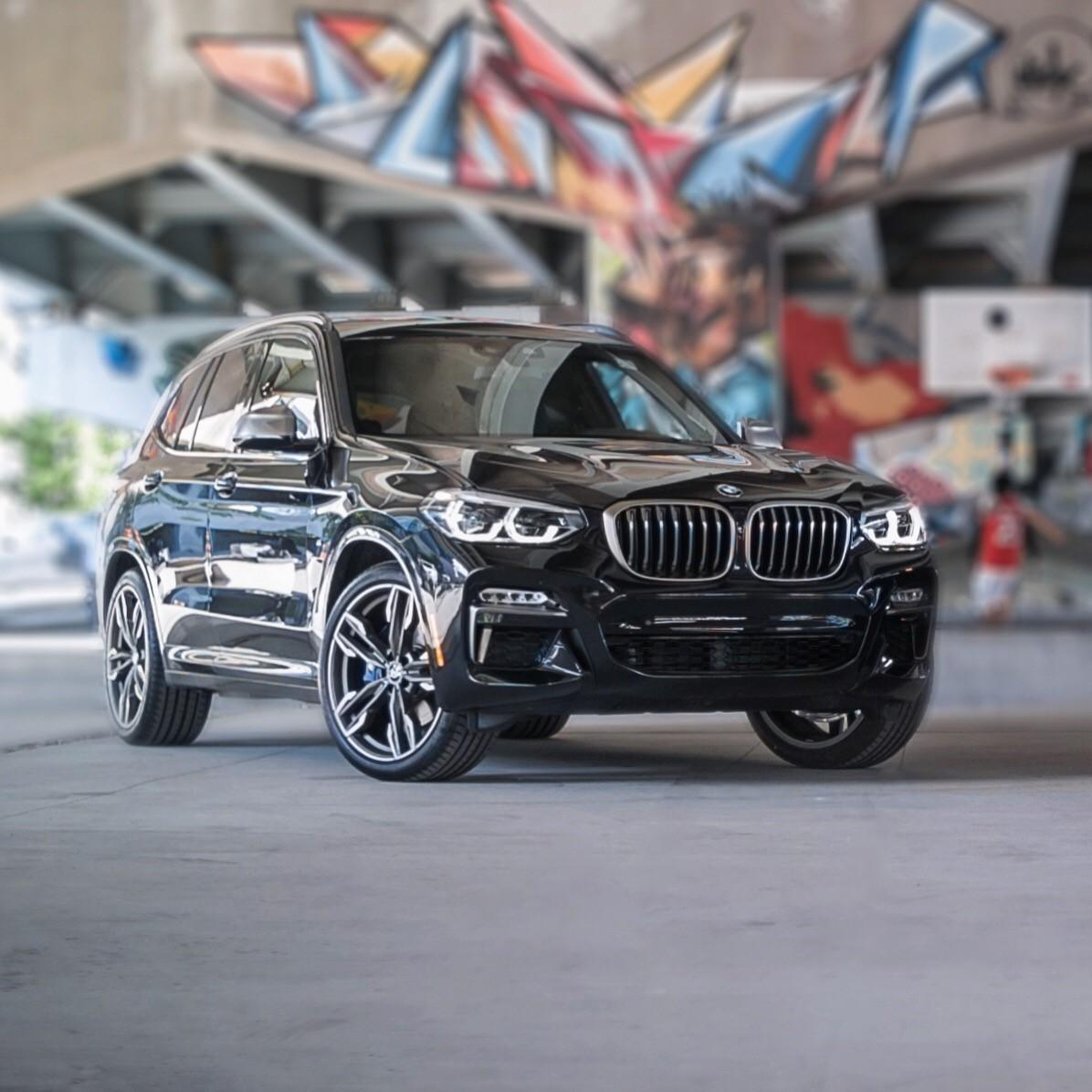 For All Summer Adventures. The BMW X3.