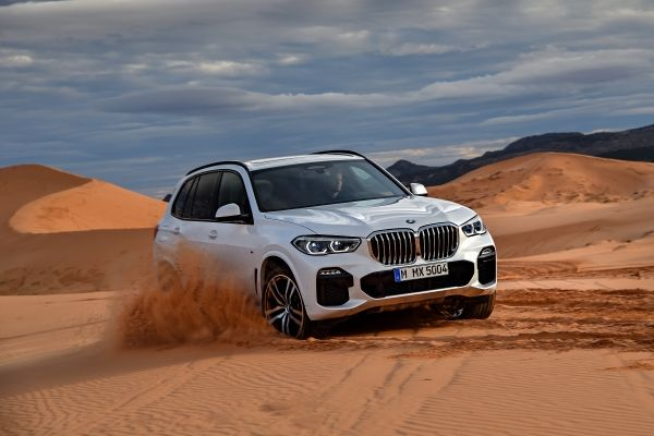 Always the Leader of the Pack. The BMW X5.
