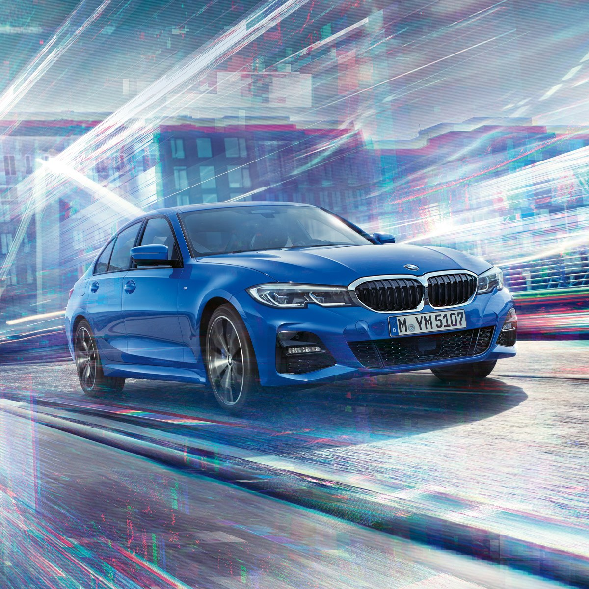The All-New BMW 3 Series Sedan. With standard xDrive All-Wheel Drive.