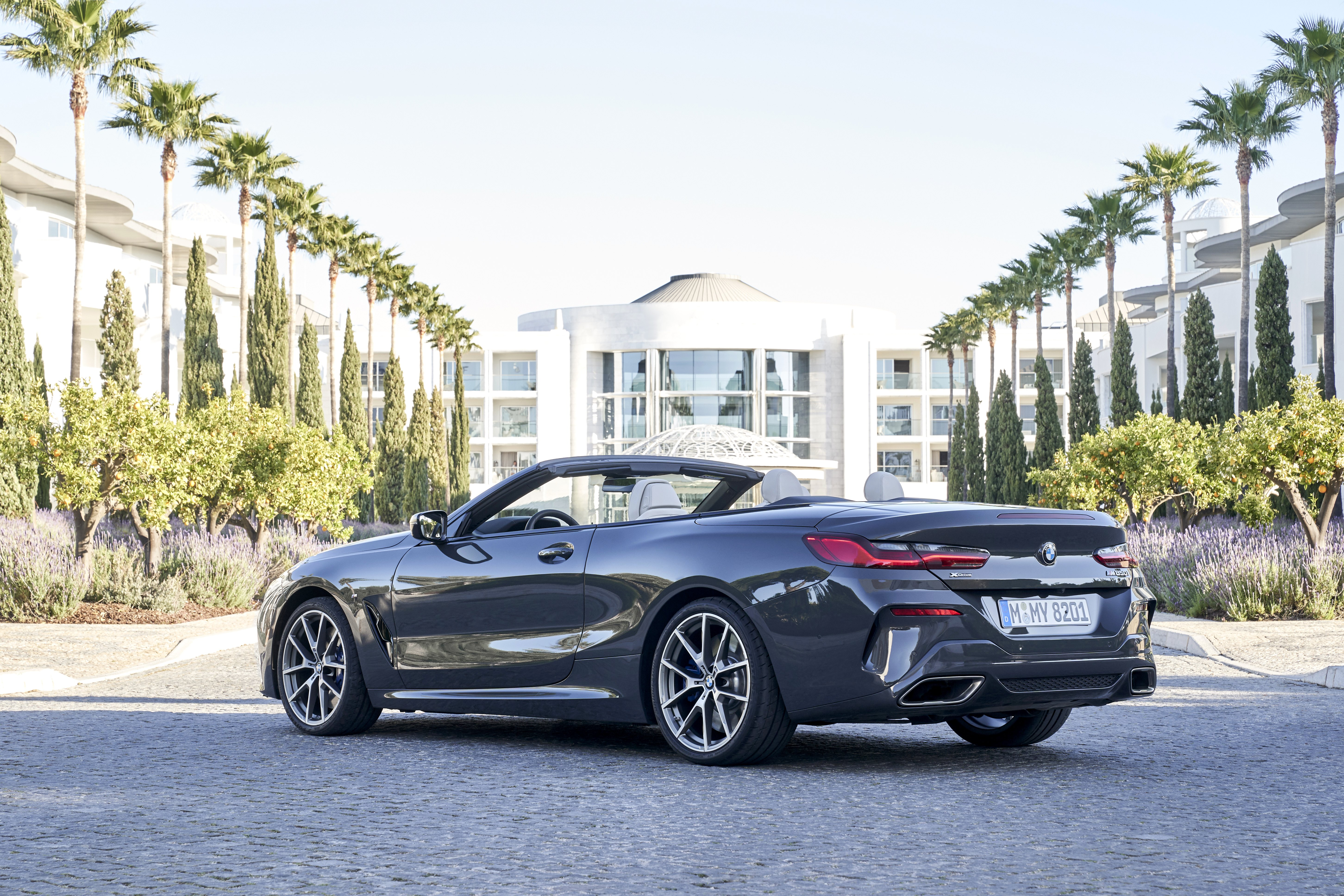 Demo BMW M850i xDrive Cabriolet for $531+HST / month.