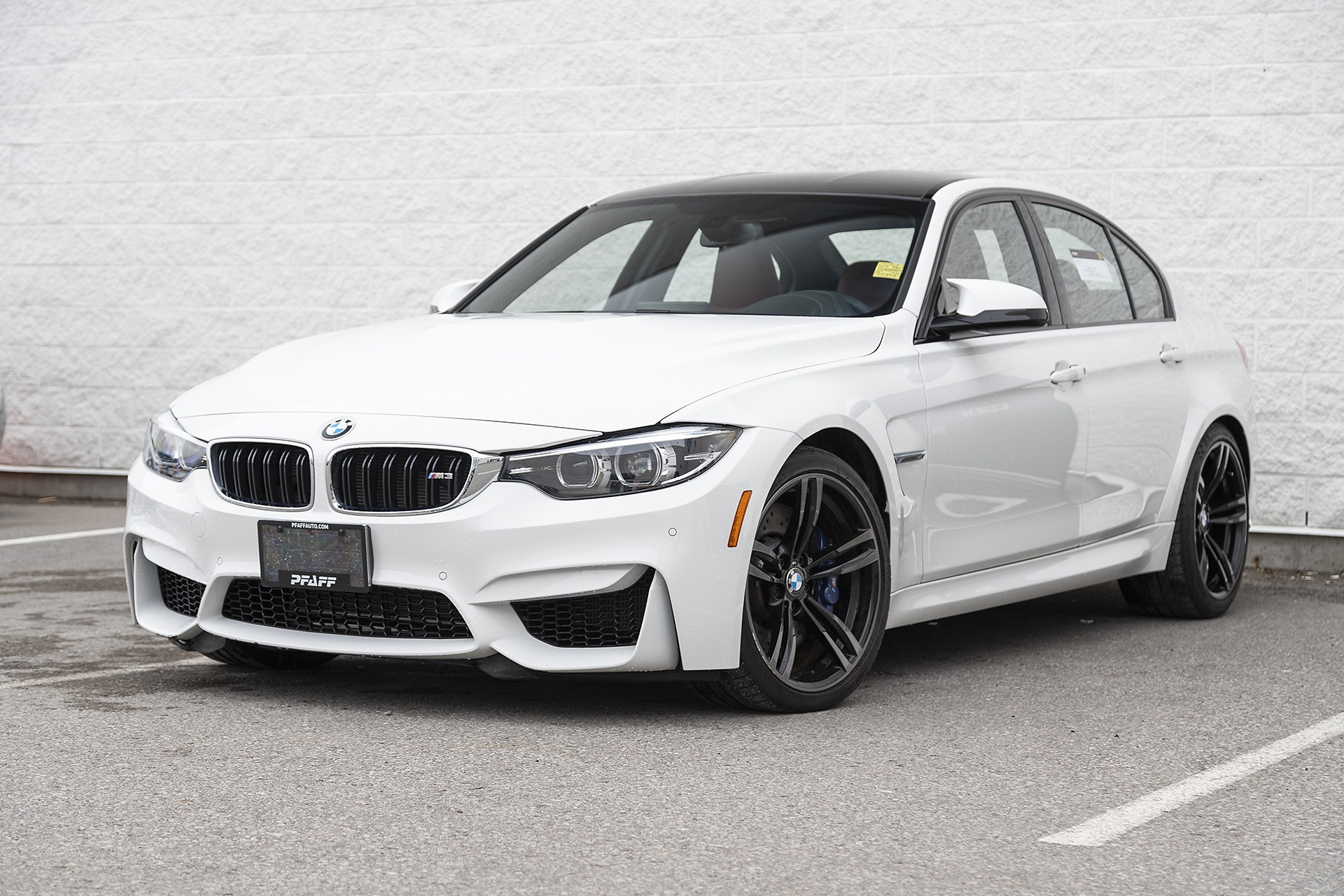 2018 BMW M3. Lease for $832.25 + HST / month