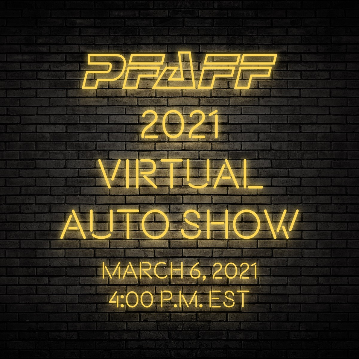 $500 Pfaff Autoshow Credit